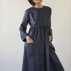 🇨🇦 Sunja Link cotton poplin dress